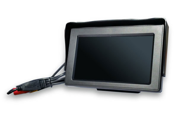 top dawg wired backup camera with monitor