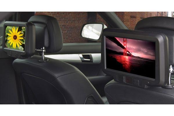 Vizualogic Elite Headrest Monitors - Car Headrest Monitors