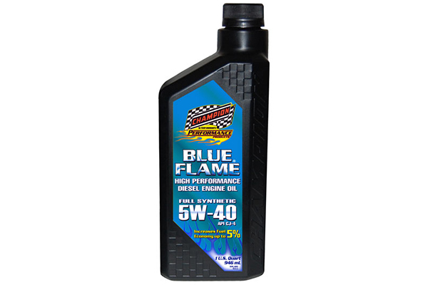 champion blue flame synthetic diesel motor oil