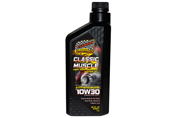 champion classic muslce synthetic blend motor oil