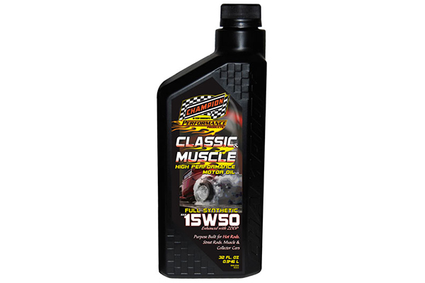 champion classic muslce synthetic motor oil