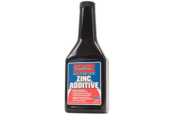 edelbrock high performance zinc engine oil additive