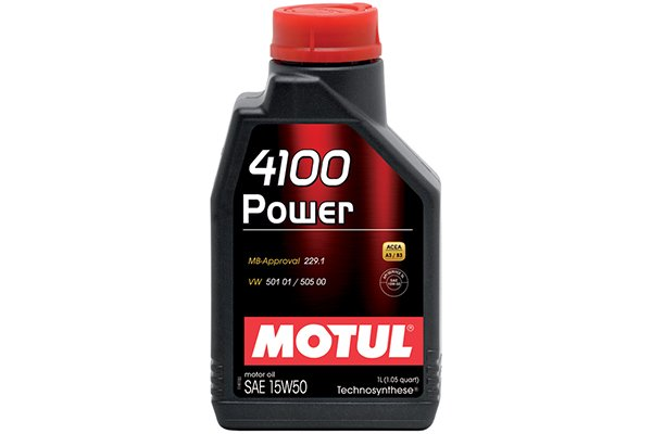 Image of Motul 4100 Synthetic Blend Engine Oil