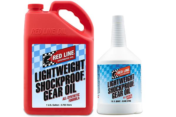 red line shockproof gear oil