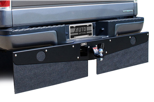 luverne hitch mounted mud flaps