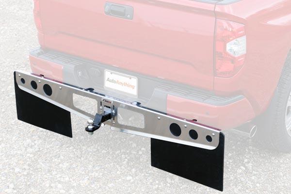 rockstar universal hitch mounted mud flaps