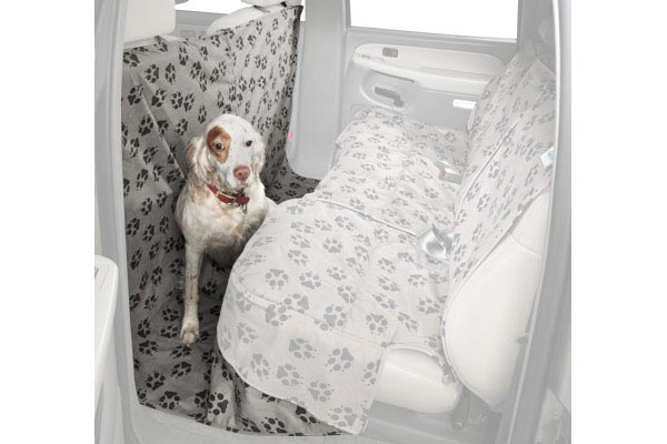 2011 Nissan Frontier Canine Covers Crypton Paw Print Suede CoverAll Seat Protect sale off 2016
