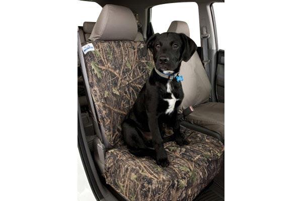 canine covers true timber camo semi custom canvas bucket seat cover
