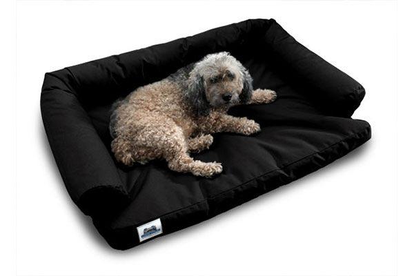 canine dog bed black