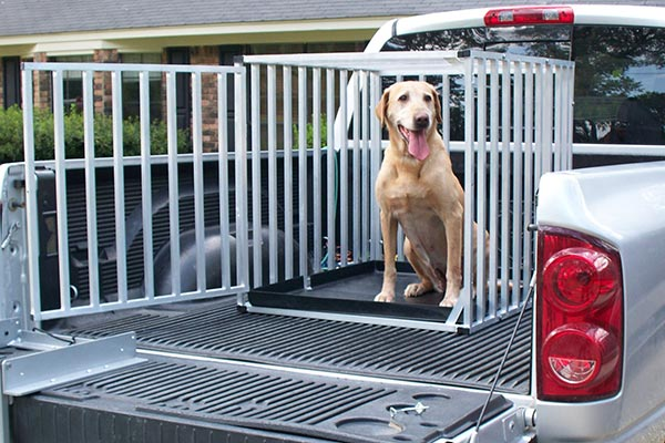 Great Day Big Dog Travel Kennel - Portable Dog Kennels for Truck Beds