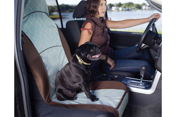 Kurgo Portsmouth Bucket Seat Cover For Dogs Free