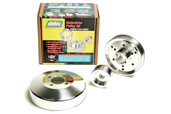 bbk underdrive pulleys