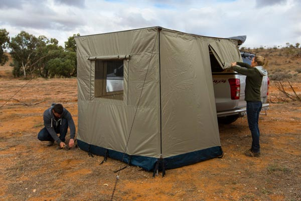 Arb Awning Wall Set