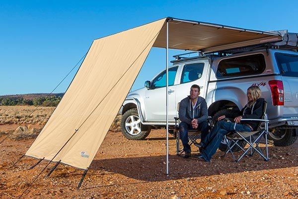 Arb Awning Wind Break Free Shipping From Autoanything