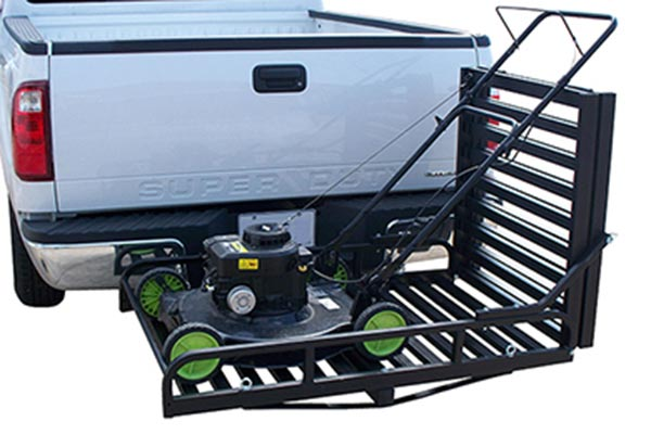 great day hitch n ride rampup cargo carrier