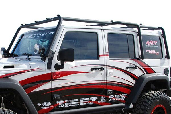 The Possibilities Are Endless With A Full MBRP Roof Rack; MBRP Roof Rack  Carrier System For Jeep Wrangler ...