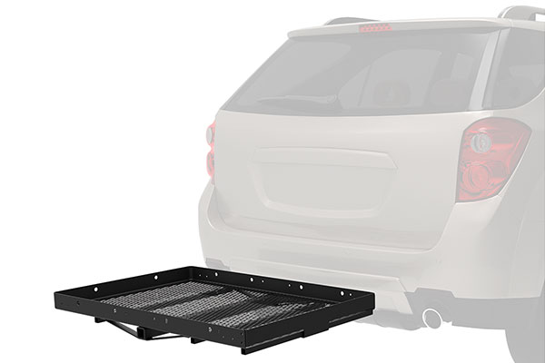 pro series solo hitch mounted cargo carrier