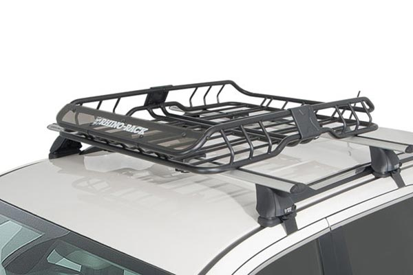 rhino rack roof mount cargo basket