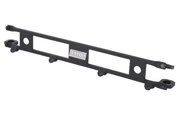 smittybilt defender roof rack light bar