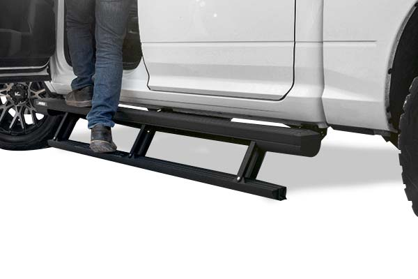Electric Running Boards >> Aries Actiontrac Powered Running Boards
