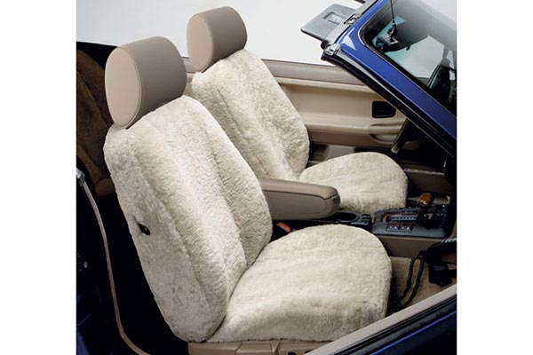 3 star sheepskin seat cover