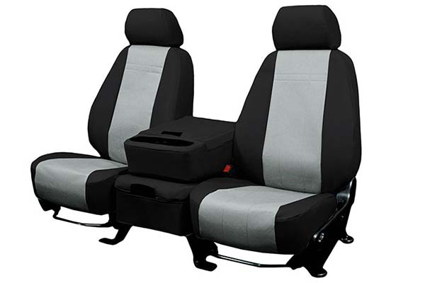 Caltrend Cordura Seat Covers in Grey and Black