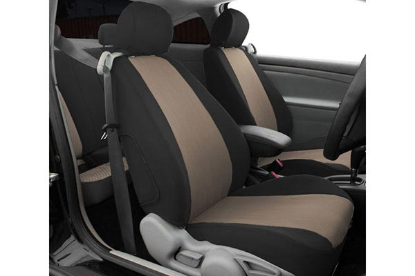 caltrend euro seat covers beige black