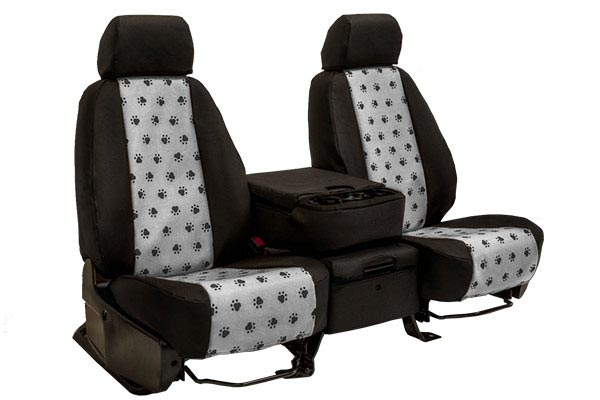 CalTrend Paw Print Seat Covers for Cars, Trucks & SUVs - Best Price ...