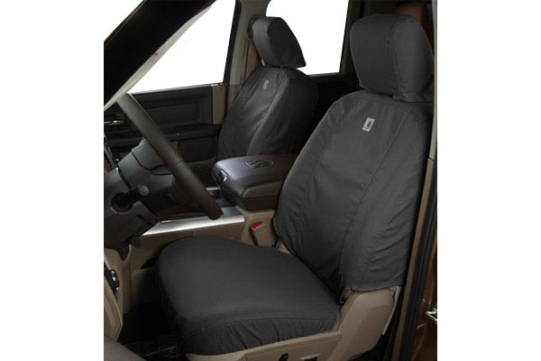 Gravel Duck Weave Covercraft Carhartt SeatSaver Second Row Custom Fit Seat Cover for Select Ford Escape//Mercury Mariner Models