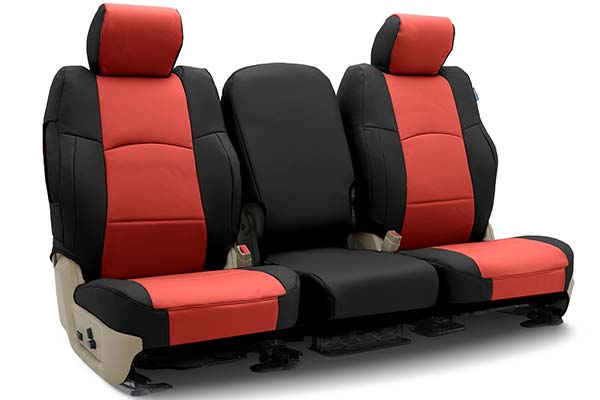 leatherette Eco leather black CAR SEAT COVERS full set fit Saab 9.3