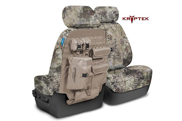 coverking kryptek camo tactical ballistic seat covers
