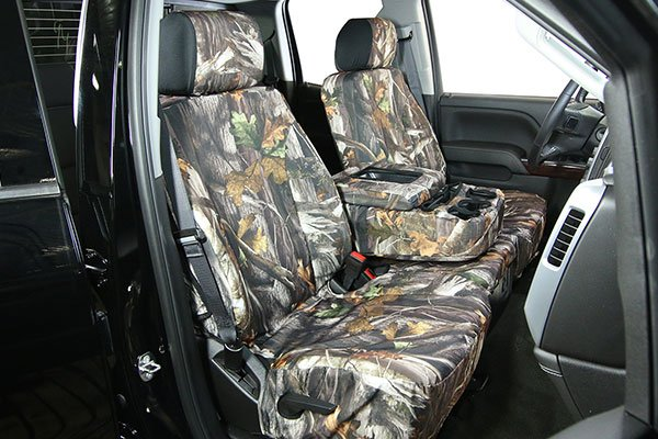 Saddleman Camo Neoprene Seat Covers Hero1