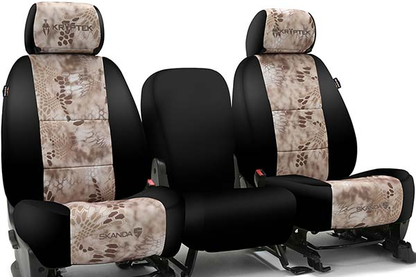 Skanda Seat Covers >> Skanda Kryptek Camo Neosupreme Seat Covers By Coverking
