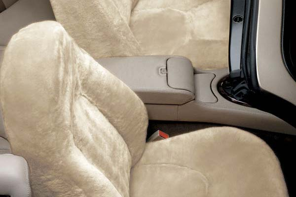 2012 Jeep Liberty Superlamb 5 Star Tailor-Made Sheepskin Seat Covers