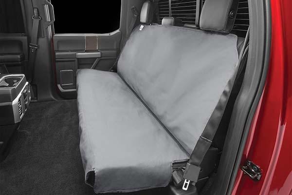 Heavy Duty Grey Rear Seat Cover Back For Mitsubishi Shogun Sport 1998-2006