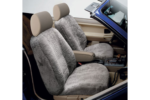 3 star semi custom sheepskin seat cover reviews read for Motor sheep seat covers
