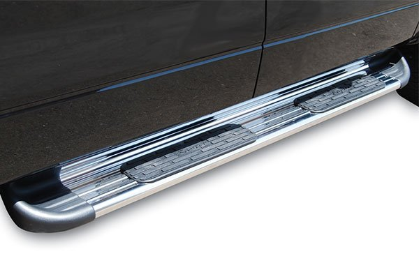 raptor series stainless steel running boards