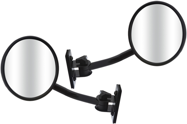 smittybilt quick release trail mirrors