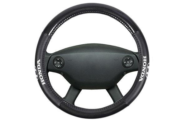 bdk honda carbon fiber steering wheel cover  2