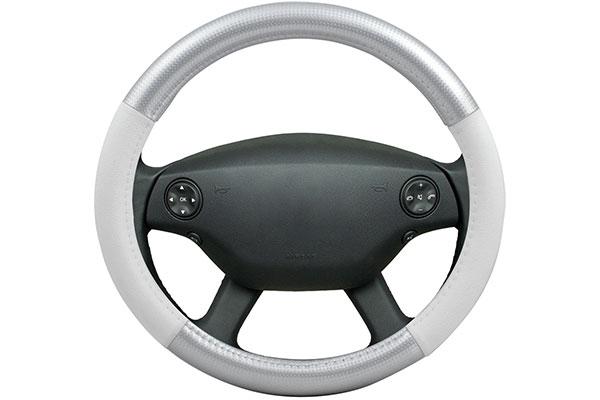 motor trend carbon fiber steering wheel cover