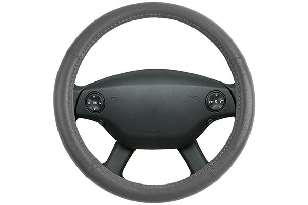 motor trend leatherette steering wheel cover