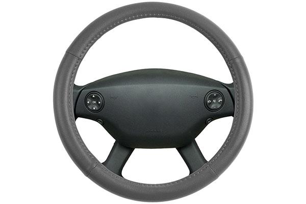motor trend leatherette steering wheel cover