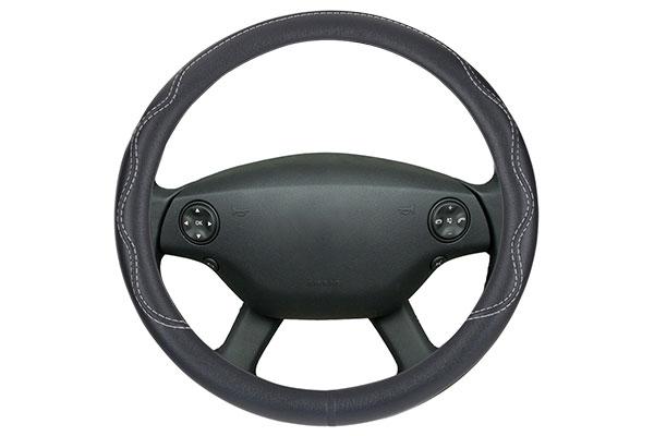 Motor Trend Performance Grip Leatherette Steering Wheel Cover
