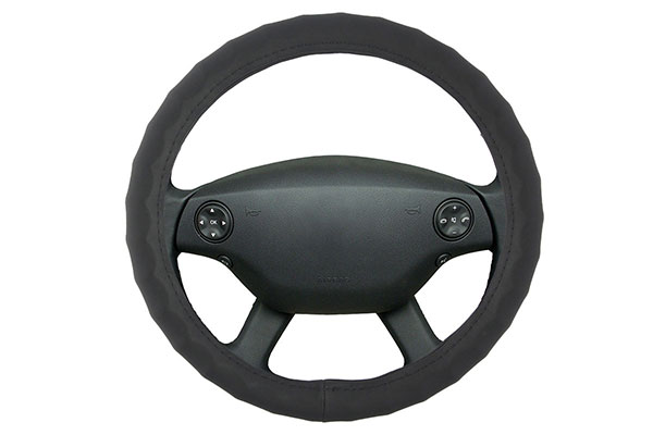 proz leather sport grip steering wheel cover