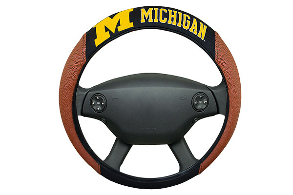 team promark ncaa steering wheel cover