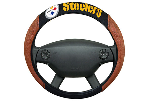 team promark nfl steering wheel cover