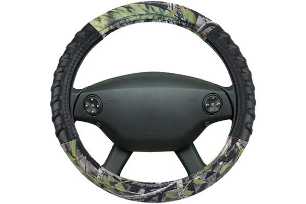 timber camo steering wheel cover