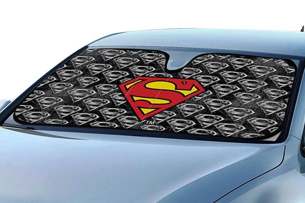 bdk superman windshield sun shade