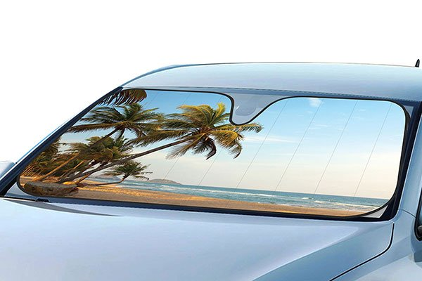 beach windshield sun shade