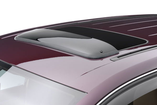 weathertech sunroof wind deflector